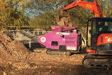 woops Purple Pulveriser Concrete Crusher.JPG