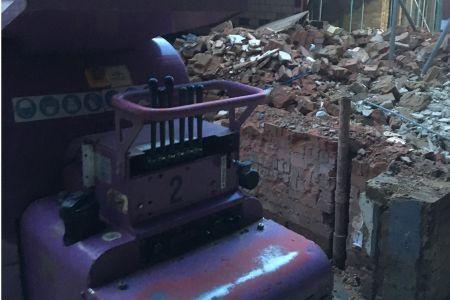 Micro Machine Hire, Purple Pulverizer Concrete Crusher.JPG