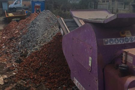 Small rubble crusher in London