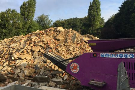 Rubble crusher hire surrey