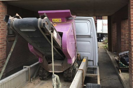 Concrete crushers delivered to London