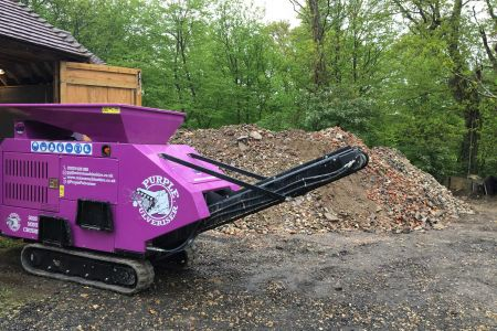 New crusher on site in Kent